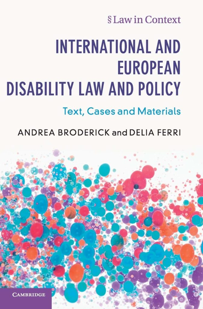 nternational and European Disability Law and Policy